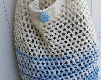 Market bag, Crochet shopping bag