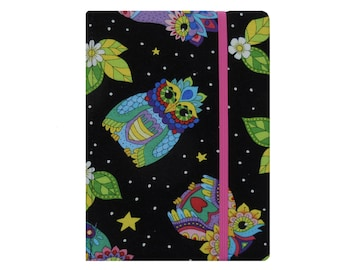 Kindle Case, Kindle Paperwhite Case, Kindle Cover, Kindle Paperwhite Cover Book, Kindle Oasis 2 Cover, Kindle Oasis 2 Case, Owls Pink Floral