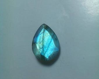 Natural Labradorite Pear Shape Faceted Cut