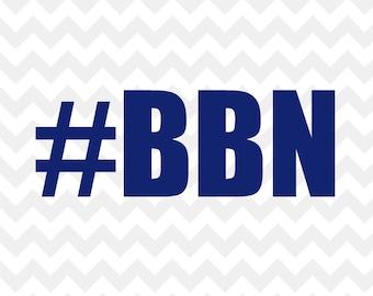BBN Big Blue Nation WIldcats Kentucky Decal Vinyl Decal Sticker