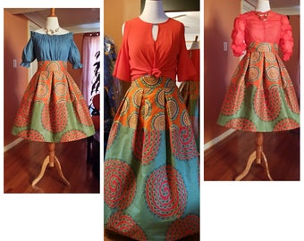 African clothing, African clothing for women,Dutch wax fabric,Made to order