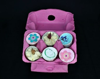 Gift Set, Bath Treats in an Egg Box, Butter Melts, Fizzy Bath Bombs, Bath Bomb Gift Set, Christmas Gift Set, Pamper Gift