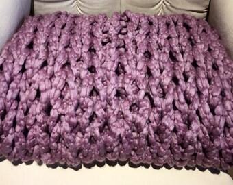 Purple Throw