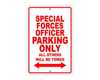 Special Forces Officer