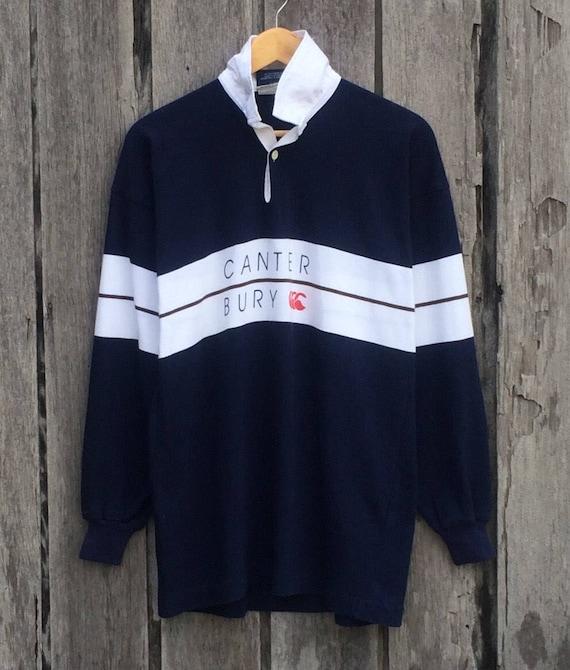 Rare!!! Canterbury spell out small logo sweatshirt jumper 7IcYt