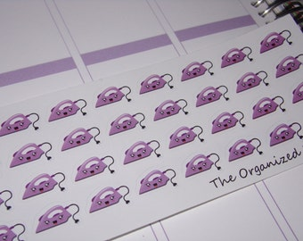 Ironing Stickers / Cleaning Stickers / Chore Stickers for your Planner!