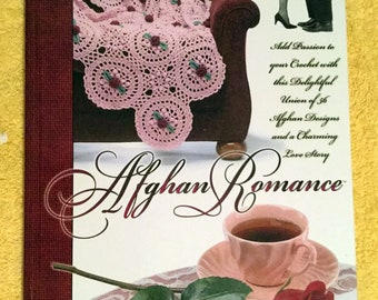 Afghan Romance Hardcover The NeedleCraft Shop – Jan 2000