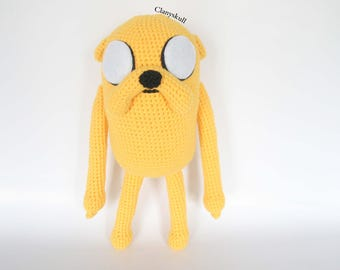 Amigurumi Jake the Dog. Adventure Time. Jake the dog. Amigurumi adventure time. Amigurumi fantasy.