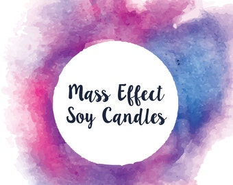 Mass Effect Inspired Soy/Coco Candles - 16 Varieties!