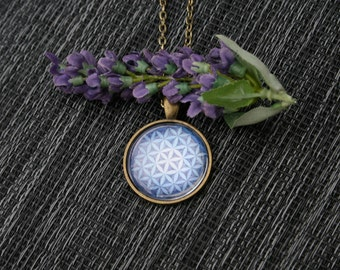 Flower of Life Pendant/ Flower of Life Necklace/ Flower of Life Jewelry