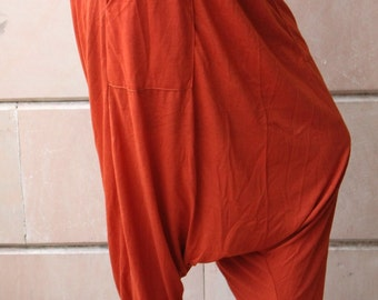 Rust Color Harem pants Casual Wear Gypsy Style