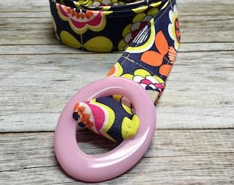 Girl's Fabric Belt -Multiple Fabric Options- Kids Belt- Toddler Belt