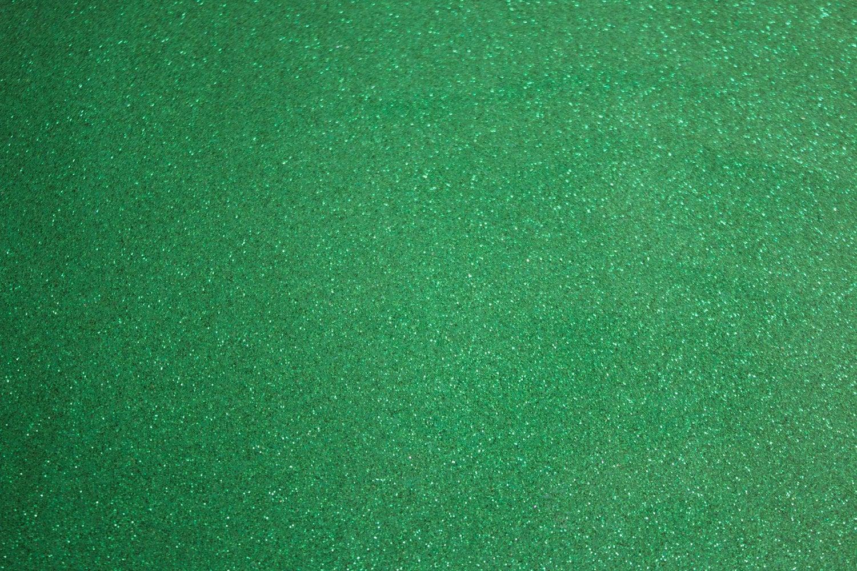 Glitter Vinyl Canvas Fabric Green