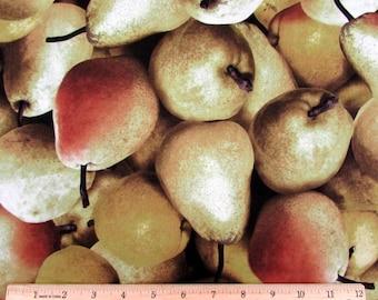 Farmers Market Fruit Pears Fabric From RJR