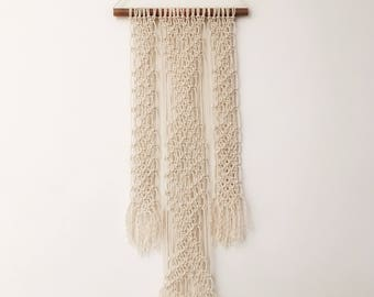 The Highland - Macrame Wall Hanging on Copper Pipe