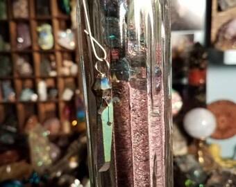 Titanium quartz ornament