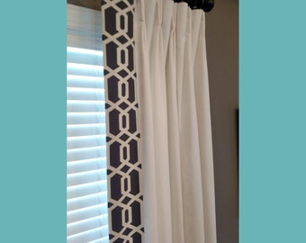 Custom Made Drapery Panels Curtains