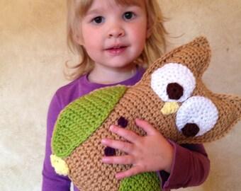 Little Hoot the Owl - PDF Crochet Animal Pattern