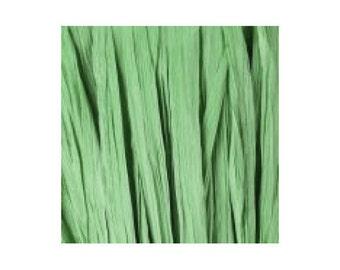 Raffia green mast - artificial raffia - 10gr - raffia Ribbon - raffia thread
