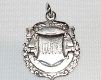 Sterling Silver Vintage Medal