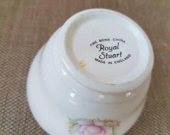 Royal Stuart Sugar Bowl. Pink Roses