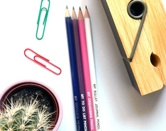 Pack of 4 'This Is My....' pencils.