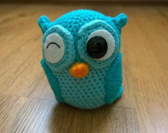 Olivander the Amigurumi Crochet Owl