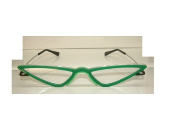 Wide Green V type GB-J Cosplay Costume Glasses