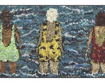 The Swimmers Online Course: Hooking people on a small scale, Rug Hooking instruction