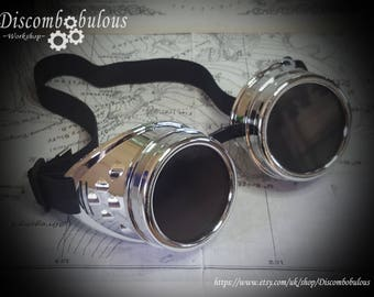 Steampunk goggles , vintage goggles, aviator goggles, steampunk glasses, mad max goggles, cosplay goggles, motorcycle goggles, Burning man