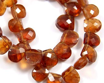 Natural Hessonite Garnet Gemstone,Faceted Fancy Beads,Wire Wrappped Making Jewelery,Gemstone Size 5-6 mm,Full 1 Strands X 8 inches,BL-56