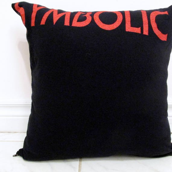 Death Pillow Diy Death Metal Decor Symbolic Cover Or Full