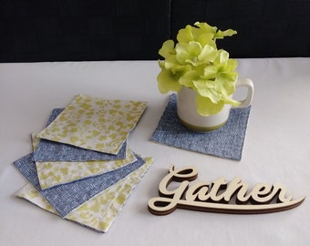 Cloth coasters 6 set