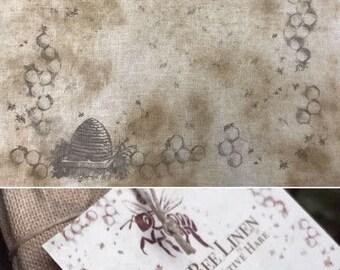 30 ct. count Prim Bee Linen The Primitive Hare cross stitch fabric