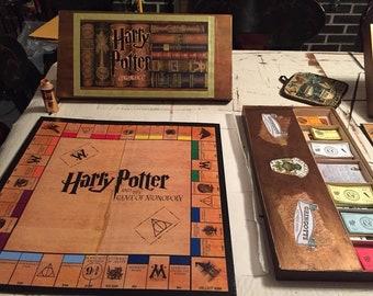 Custom, Harry Potter inspired Monopoly game