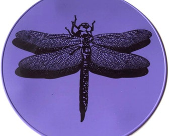 Purple Dragonfly Silicone Kitchen Trivet Kitchen Hot Pad Table Placemat Table Trivet