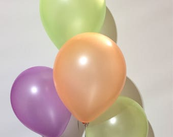 "12"" Neon Latex Balloons (100 count)"
