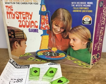 The Mystery Zodiac Game with original box by Remco 1969