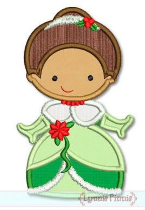SAMPLE SALE, Tiana Christmas Cutie Embroidered Shirt - The Princess and the Frog - Disney Princess - Disney Christmas Vacation -