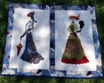 Victorian Ladies Hanging