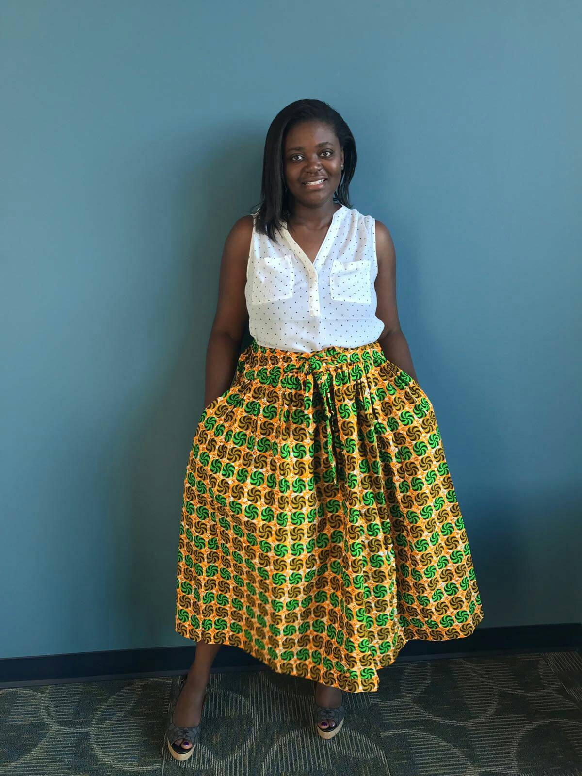 new African clothing African skirt african skirts ankara