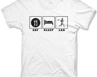 Kid's Eat Sleep Lax t-shirt youth lacrosse shirts
