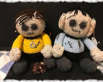 Star Trek Kirk and Spock Voodoo Dolls
