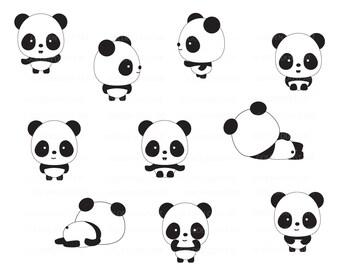 panda clip art etsy rh etsy com panda clip art sports panda clip art sports