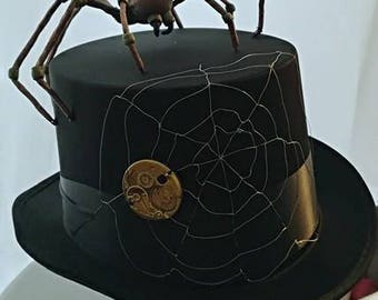 Mechanical spider Hat