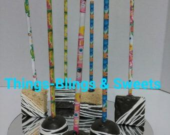 Rice Krispy Treats and cake pops