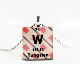 Teacher periodic table chemistry science necklace or keychain science necklace jewelry chemistry pendant periodic table of elements charm custom personalized urtaz Image collections