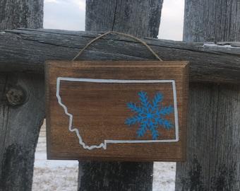 Montana Snowflake