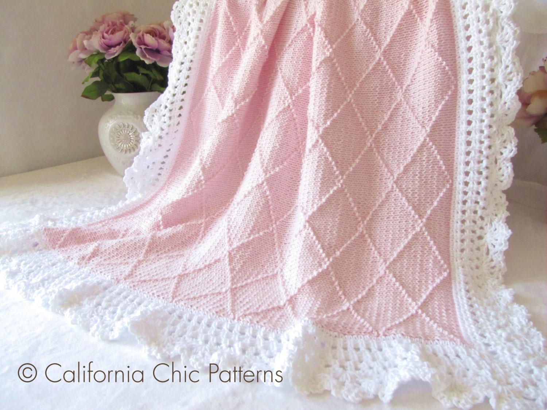 knitting pattern 63 paris knit baby blanket pattern 63. Black Bedroom Furniture Sets. Home Design Ideas