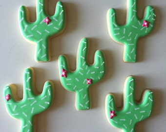 Cactus Cookies, Summer Cookies, Treat Bags, Party Favors, Cactus, Dessert Table, Birthday Cookies, Cookie Gifts, Summer Party